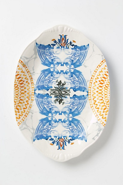 Palazzo Serving Platter #anthropologie