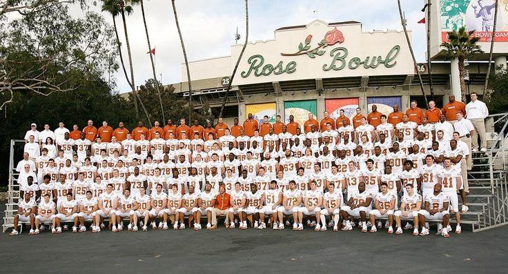 2006 Rose Bowl team photo day