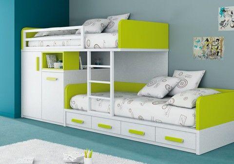 Litera- Camas nido/Literas - Infantil/Juvenil - Kenay Home