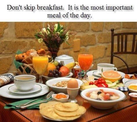 breakfast - the most important meal of the day essay We all have heard that breakfast is the most important meal of the day,  here are 10 reasons breakfast really is the most important meal of the day.