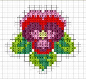 Несколько схем для вышивки миниатюр | biser.info - всё о бисере и бисерном творчестве