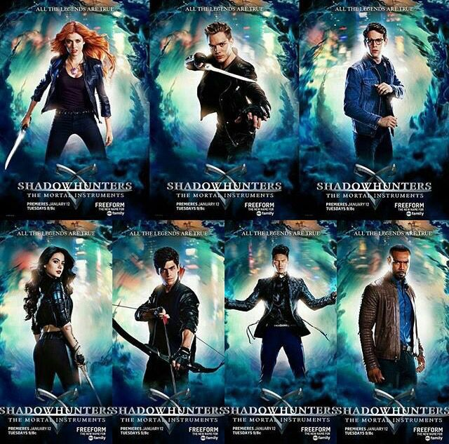 New Shadowhunters official posters