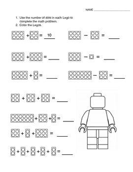math worksheet : 62 best using lego?? to teach math images on pinterest  lego math  : Lego Maths Worksheets