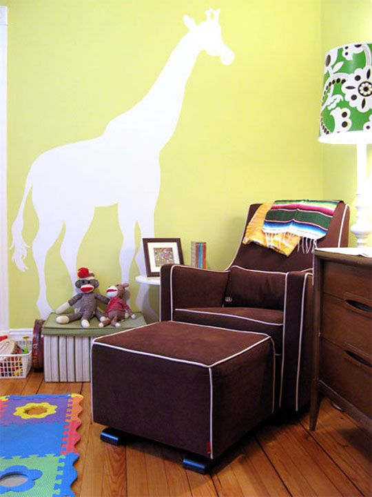 Lovely A Bright Safari Bedroom