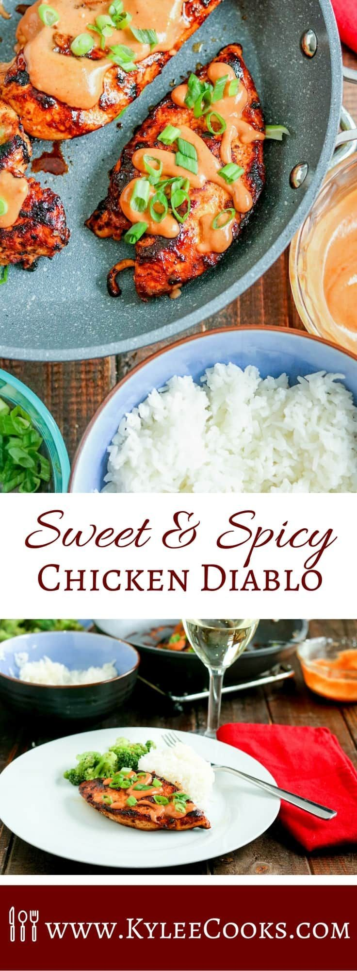 This spicy, sweet and creamy Chicken Diablo is a super easy dinner, that will satisfy the family. Ramp the heat up, or dial it down to your liking!  #momblogtourFF #ad #tastethemagic