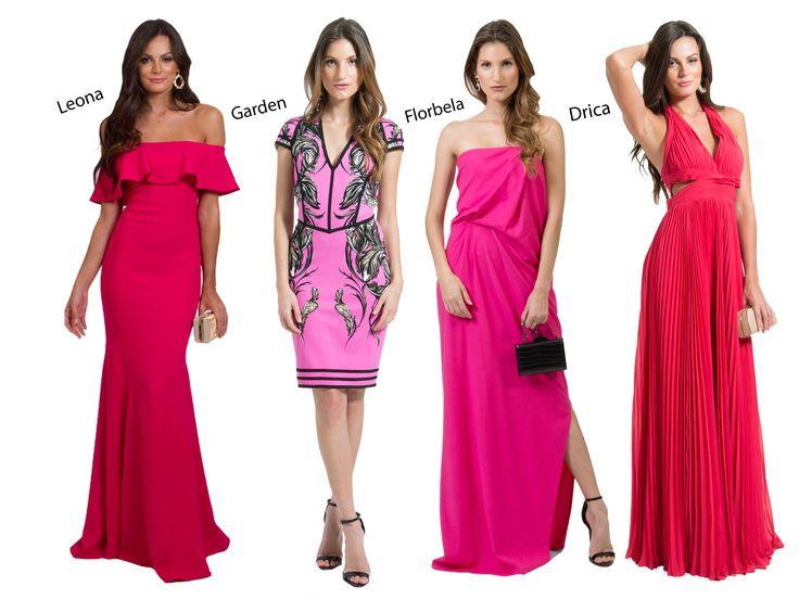 POWERLOOK - Aluguel de Vestidos Online – O Pink voltou com tudo! Muitas vezes associada ao romantismo, esta cor ganha um novo sentido: PODER E ESTILO!! Olha que lindos os vestidos Leona, Garden, Florbela e Drica!! Inspire-se #alugueldevestidos #powerlook #madrinha #casamento #festa #party #glamour #euvoudepowerlook #dress #dreams #arrase #alugue #devolva #modaconsciente #pink #rosa #leona #garden #florbela #drica