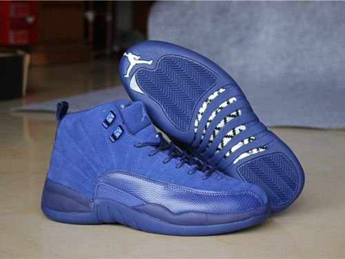 Buy Men Basketball Shoes Air Jordan 12 Blue Suede 277 Cheap To Buy from  Reliable Men Basketball Shoes Air Jordan 12 Blue Suede 277 Cheap To Buy  suppliers.
