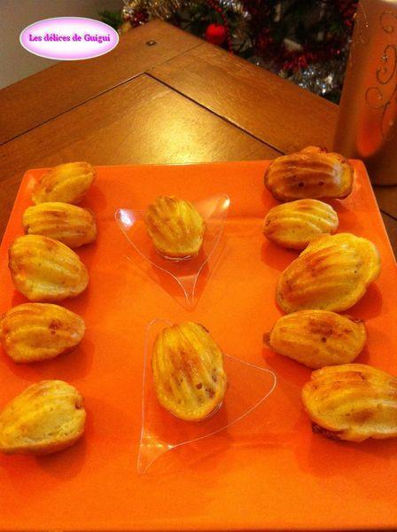 madeleine chorizo