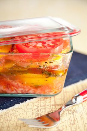 Paula Deen Marinated Tomatoes: Amazing Recipes, Side Dishes, Caprese Salad, Vegetables Oil, Deen Marines, Marines Tomatoes, Deen Recipes, Marinated Tomatoes, Green Onions