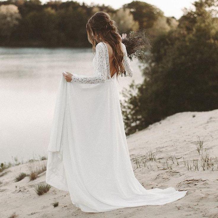 Seidenblute Luftes Hochzeitskleid Lily Hochzeitskleid