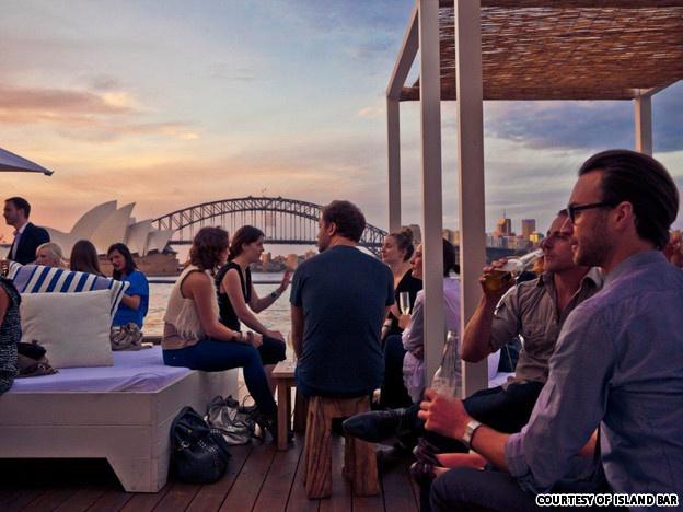 The Island Bar, Cockatoo Island, Sydney harbour #australia #travel