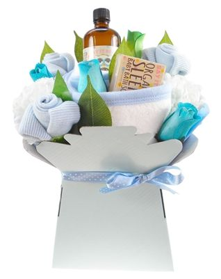 Baby Boy Bath Time Bouquet