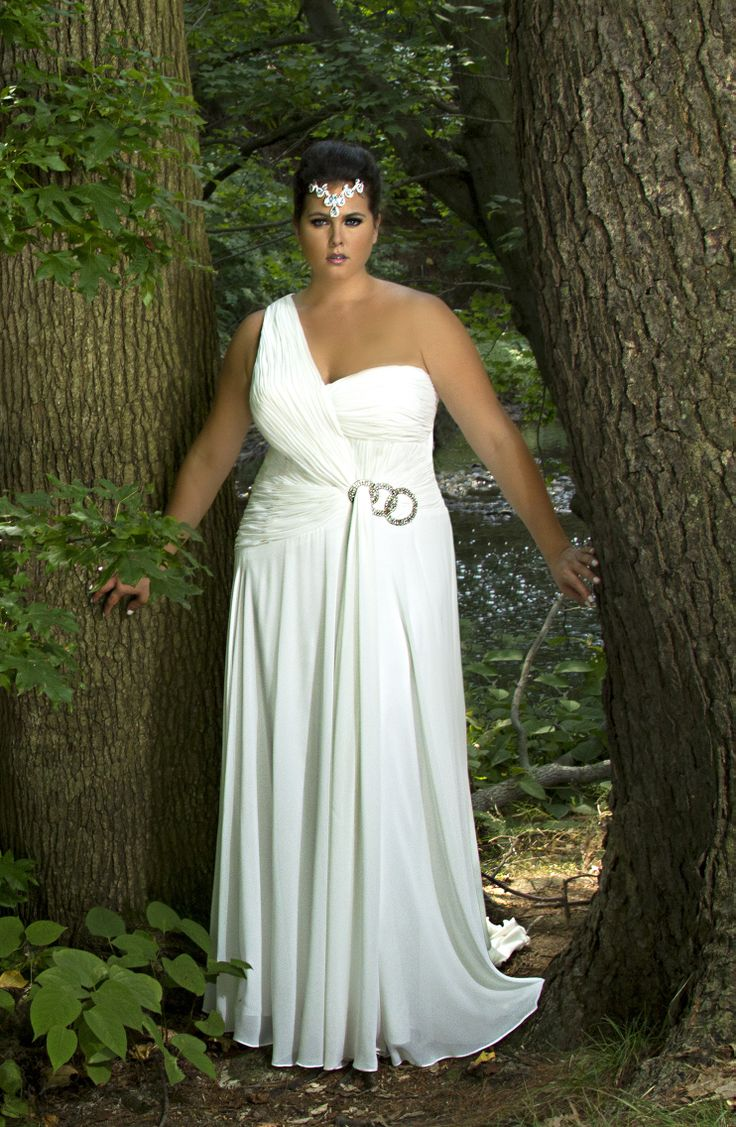 52 best images about plus size wedding gowns on pinterest for Wedding dresses size 14