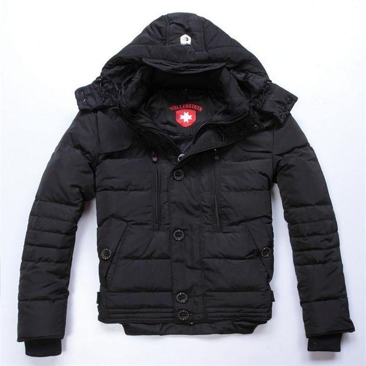 Top Quality Down Parka Jacket Coat 2018 New Winter Thick Warm Overcoat zipper Outerwear black Dow #top #jacket #fitnessapparel #activewear #sportswear #amalhantashfitness