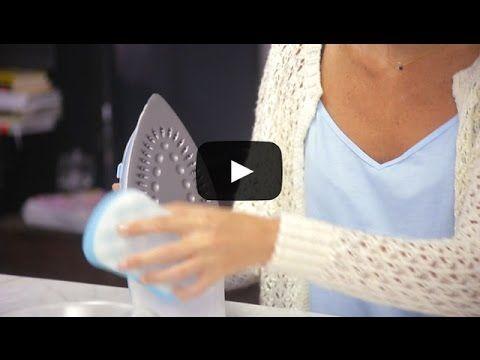 Cómo limpiar la plancha de la ropa - Ahorro Alimenta Sonrisas - YouTube