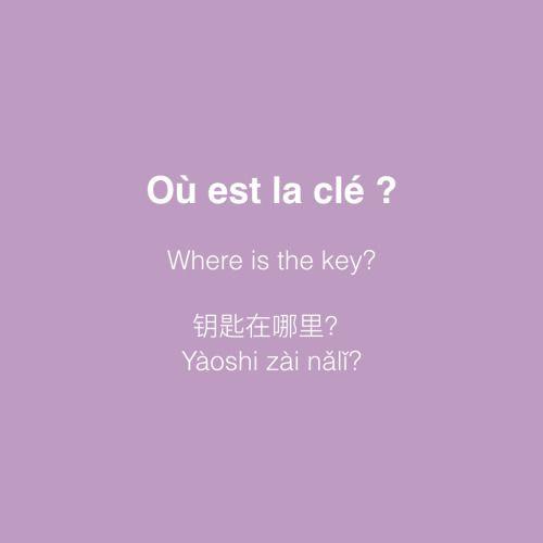 wo ist der Schlüssel?