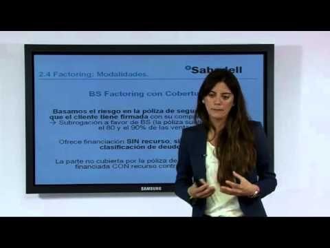 VIdeosesión Exportar para Crecer: Factoring y Confirming- BANCO SABADELL