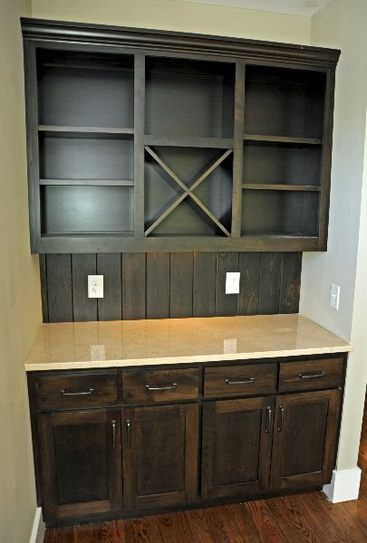 Built In Dry Bar Thomas Built Custom Cabinets Basement
