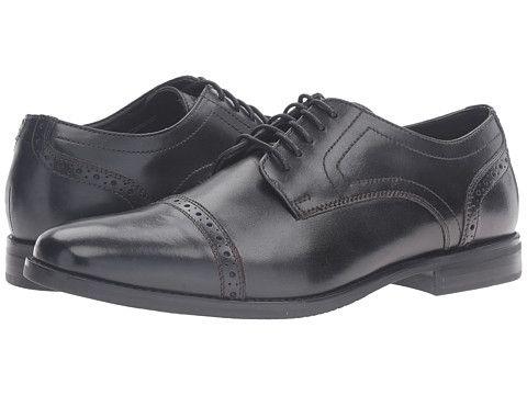Rockport Style Purpose Cap Toe (Black) Men's Shoes