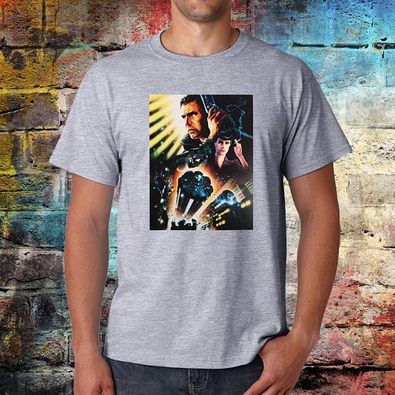 Blade Runner T-shirt  Retro tee  Sci fi shirt  Movie tee