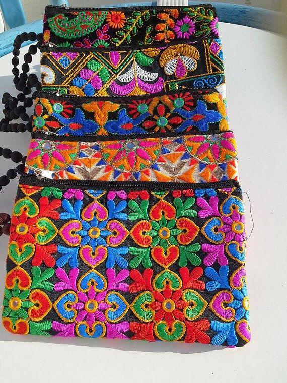 5 jolies pochettes marocaines / Tendance / par BlanketThuyaWood