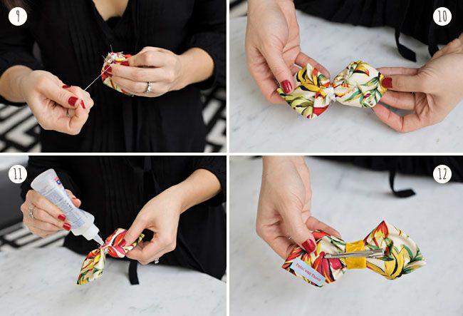 DIY: Pleated Bow Tie