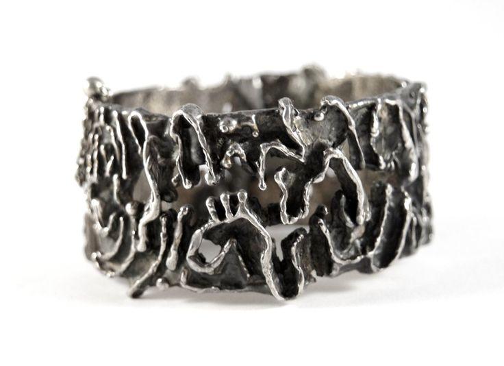 Guy Vidal - Brutalist Jewelry Designer 1970's
