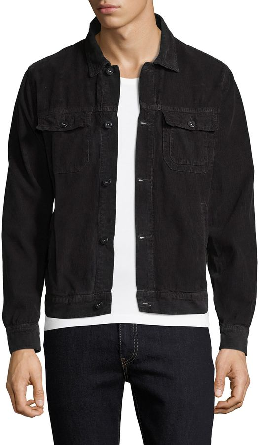 Save Khaki Men's Pima Cotton Corduroy Jacket