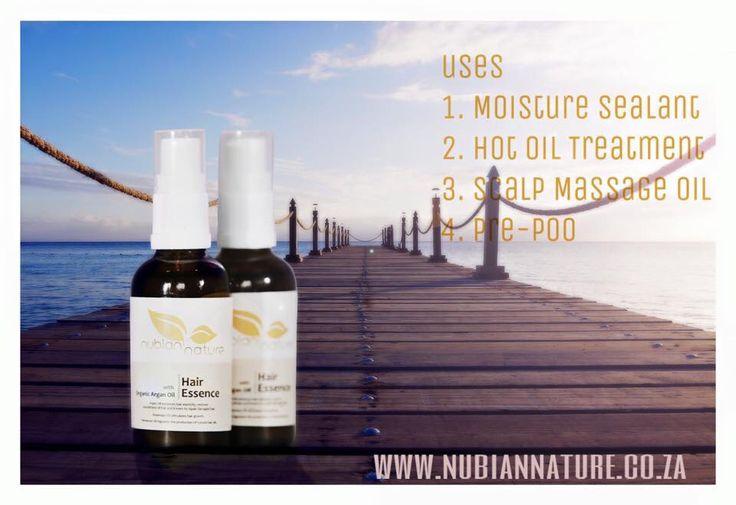Hair Essence with Organic Argan Oil