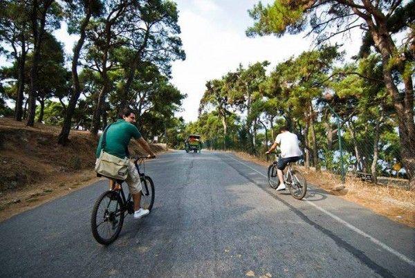Βόλτα με ποδήλατο στη Πρίγκηπο   #Bike in #Buyukada