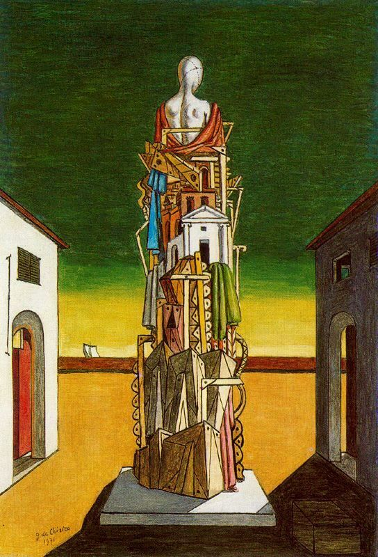 The Great Metaphysician, 1971 - Giorgio de Chirico - WikiArt.org