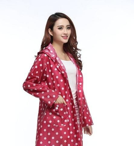 Super Sleek Women's Rain Jacket with Hood