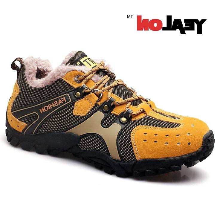 32.15$  Watch now - https://alitems.com/g/1e8d114494b01f4c715516525dc3e8/?i=5&ulp=https%3A%2F%2Fwww.aliexpress.com%2Fitem%2FYEALON-Winter-Sneakers-Trekking-Men-Winter-Sports-Shoes-Mountain-Boots-Outdoor-Zapatillas-Deportivas-Hombre-Trekking-With%2F32739327964.html - YEALON Winter Sneakers Trekking Men Winter Sports Shoes Mountain Boots Outdoor Zapatillas Deportivas Hombre Trekking With Fur