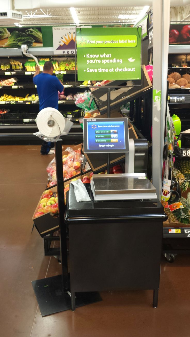 """Produce section self-tag with Mettler.  Mettler also """"owns"""" the deli. Competing vendor (sort of competing) is NCR. These are relatively expensive systems."""