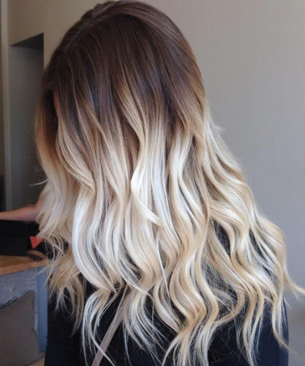 40 Curly Blonde Balayage And Ombre Hair Designs