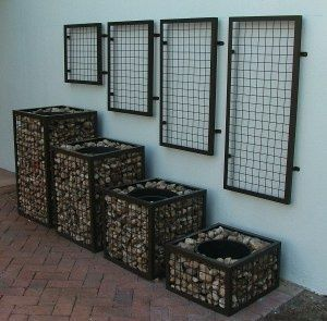 Gabion Planters - Not Black |