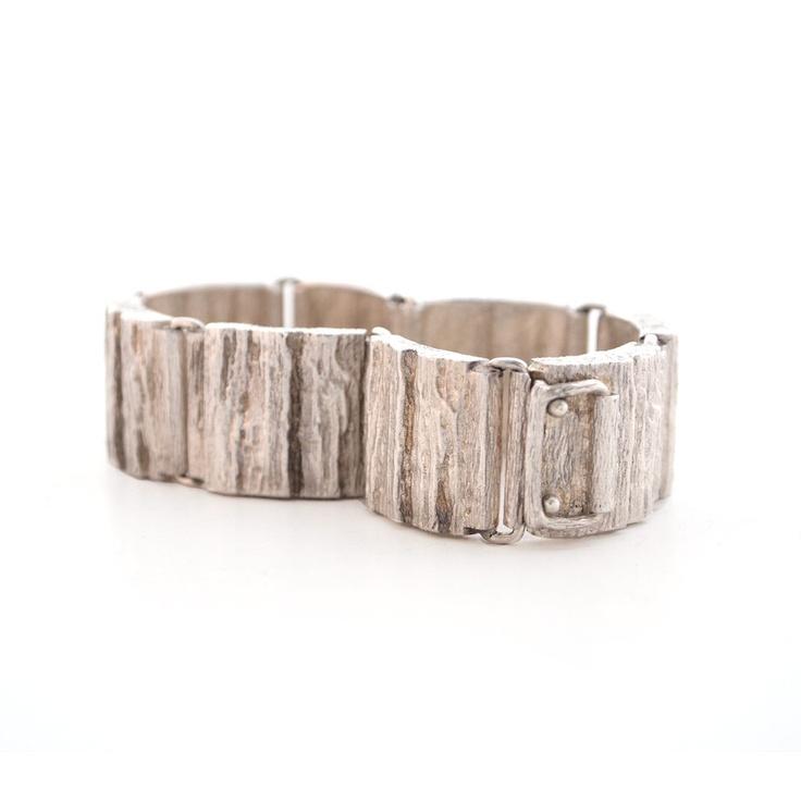 """Anton Michelsen """"Bark"""" Bracelet from Hopea20.comAnton Michelsen, New Products, Bark Bracelets, Danishes Anton, Michelsen Bark"""