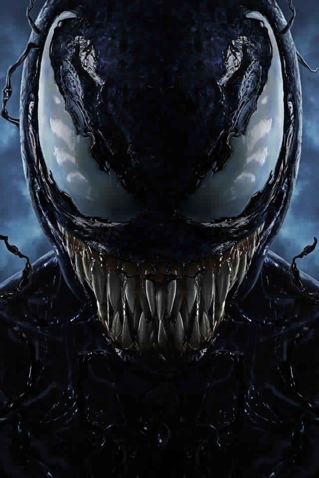 Best Wallpaper For Iphone X Venom Movie 2018 10k Key Art L1 640960 1