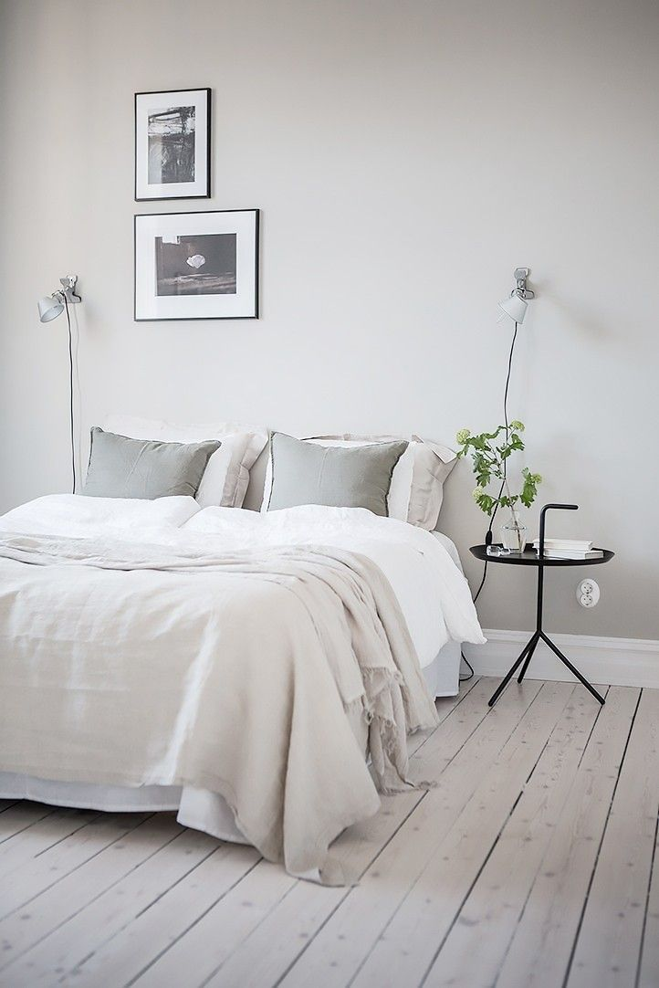 A Designer S Guide To The Prettiest Blue Paint Colors For Every Style Scandinavian Design Bedroom Minimalist Bedroom Bedroom Interior