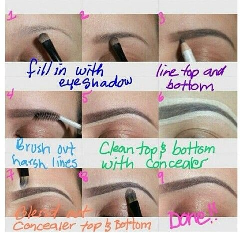 A lot of girls over-do the concealer part, but if done right, it looks really nice.