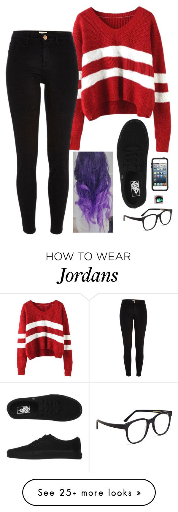 """Untitled #784"" by erika-demass on Polyvore featuring moda, River Island, Vans, OtterBox y Larke"