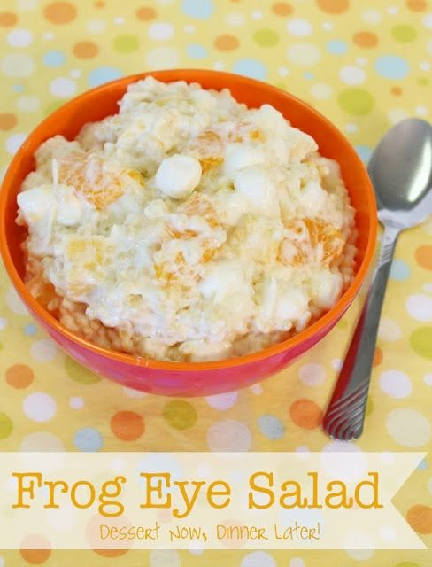 Frog Eye Salad (Restaurant Style) on MyRecipeMagic.com #frogeye #salad #restaurantstyle