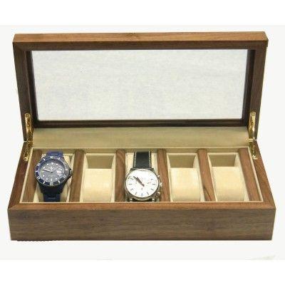 17 migliori idee su orologi in legno su pinterest - Porta orologi uomo ...