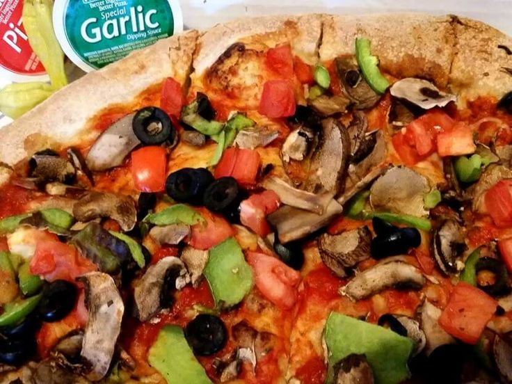 How to order vegan from little caesars papa johns domino
