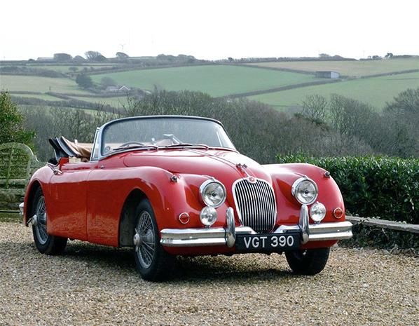 1958 Jaguar XK150 Drophead Coupé