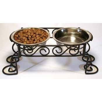 Scroll Work Stainless Steel Double Diner 1 - quart (5850)
