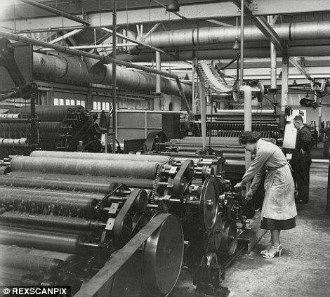Photographer enters decaying West Yorkshire mills which helped make county wool capital of the world | Mail Online