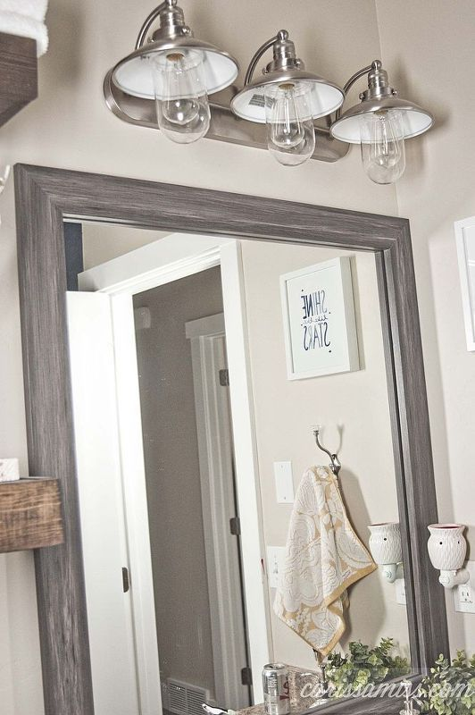 how to style a nautical bathroom makeover, bathroom ideas, home decor, painted furniture, small bathroom ideas