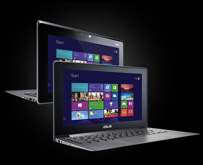 The ASUS Taichi - Two screen laptop experience.  http://www.asus.com/vivo/en/taichi.htm