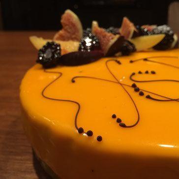 No-Bake Cheesecake - White chocolate glaze